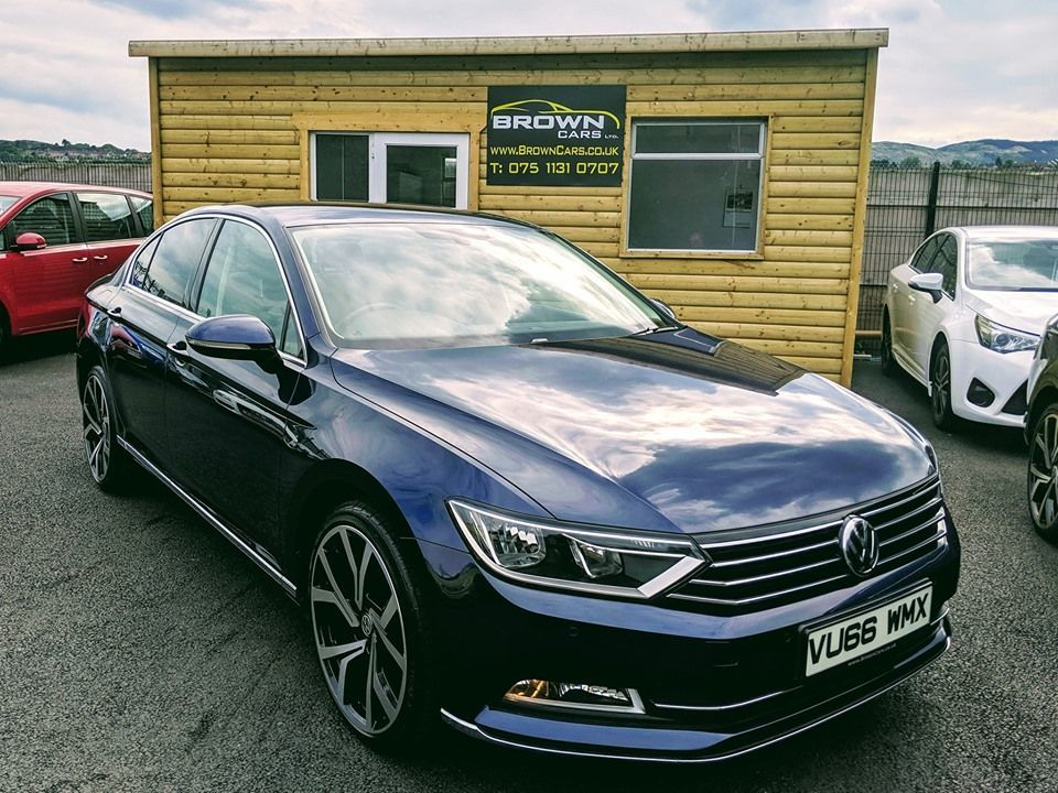 2016 Volkswagen Passat 2.0 GT TDI BLUEMOTION TECHNOLOGY Diesel Manual ****FINANCE AVAILABLE**** – Brown Cars Newry