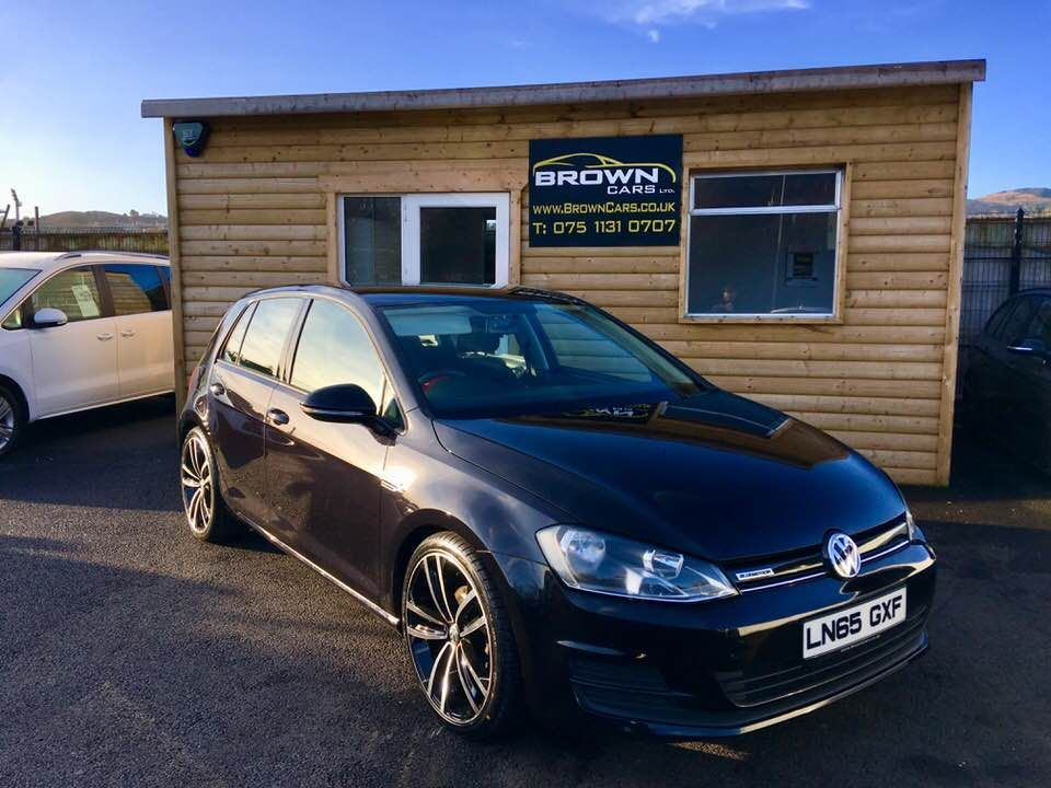 2015 Volkswagen Golf 1.6 BLUEMOTION TDI Diesel Manual **** Finance Available**** – Brown Cars Newry