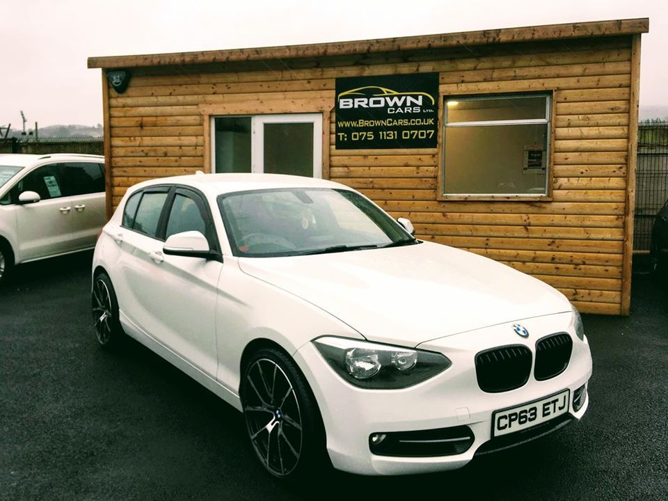 2013 BMW 1 Series 1.6 114D SPORT Diesel Manual **** Finance Available**** – Brown Cars Newry
