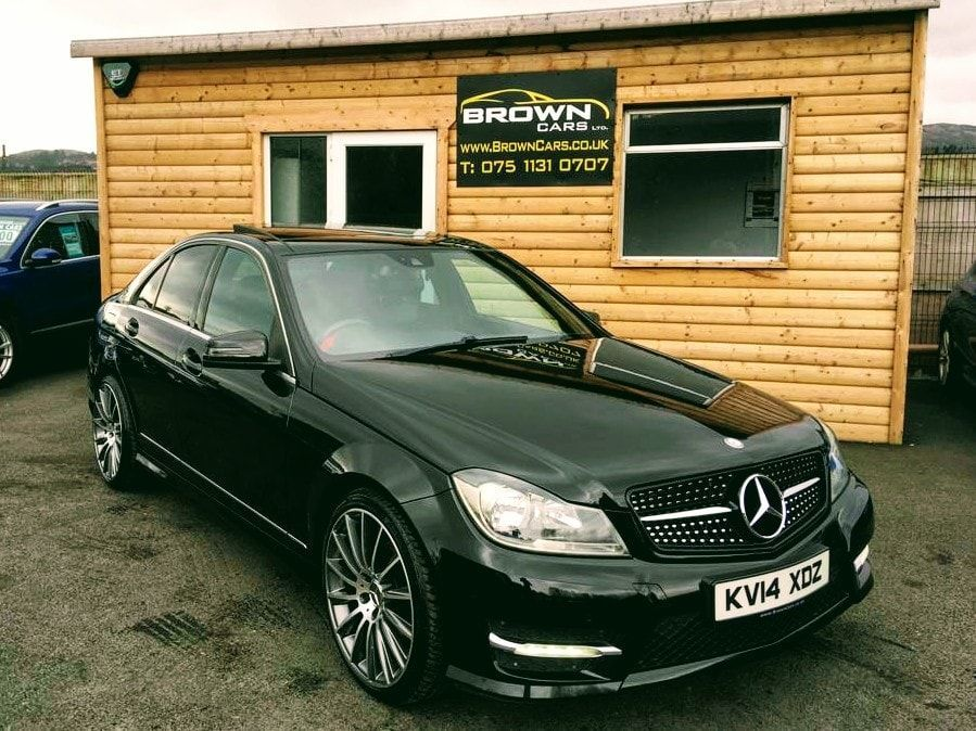 2014 Mercedes-Benz C Class C-CLASS 2.1 C220 CDI AMG SPORT EDITION PREMIUM PLUS Diesel Automatic **** Finance Available**** – Brown Cars Newry