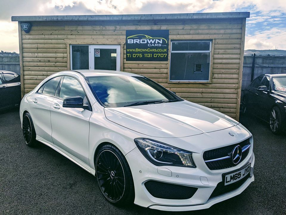 2015 Mercedes-Benz CLA 2.1  200 D AMG LINE Diesel Manual **** Finance Available**** – Brown Cars Newry