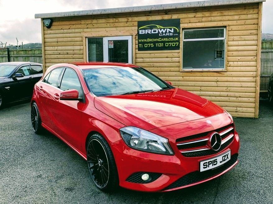 2015 Mercedes-Benz A Class A-CLASS 1.5 A180 CDI ECO SE Diesel Manual **** Finance Available**** – Brown Cars Newry