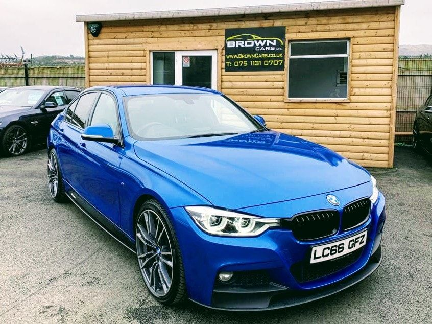 2016 BMW 3 Series 2.0 320D M SPORT Diesel Manual **** Finance Available**** – Brown Cars Newry