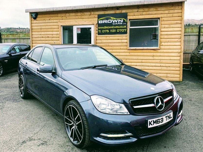 2014 Mercedes-Benz C Class C-CLASS 2.1 C200 CDI BLUEEFFICIENCY EXECUTIVE SE Diesel Automatic **** Finance Available**** – Brown Cars Newry
