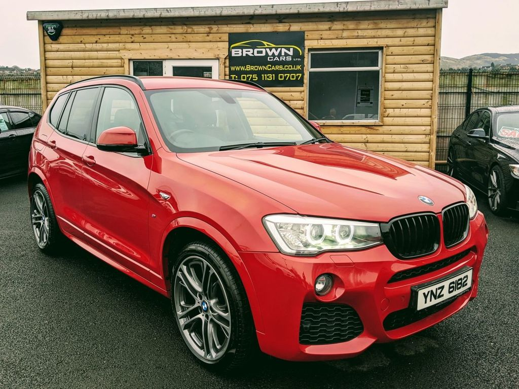 2014 BMW X3 3.0 XDRIVE30D M SPORT Diesel Automatic **** Finance Available**** – Brown Cars Newry
