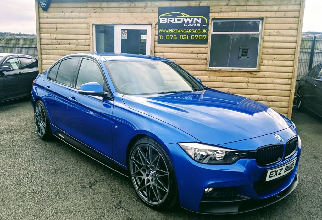 2013 BMW 3 Series 2.0 320D M SPORT Diesel Manual **** Finance Available**** – Brown Cars Newry