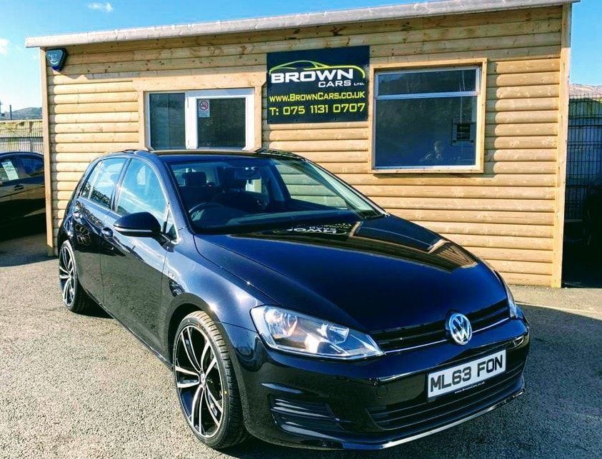 2013 Volkswagen Golf 1.6 S TDI BLUEMOTION TECHNOLOGY Diesel Manual **** Finance Available**** – Brown Cars Newry