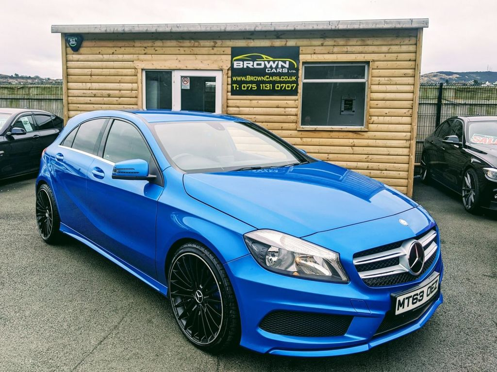 2013 Mercedes-Benz A Class A-CLASS 1.5 A180 CDI BLUEEFFICIENCY AMG SPORT Diesel Manual **** Finance Available**** – Brown Cars Newry