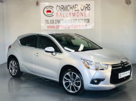 2012 CITROEN DS4 1.6 HDi DStyle Diesel Manual SILVER, 87K, 1/2 LEATHER – Carmichael Cars Ballymoney