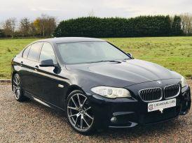 2012 BMW 5 Series 2.0 520d M Sport Diesel Manual CARBON BLACK, ONLY 64K, – Carmichael Cars Ballymoney
