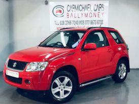 2009 SUZUKI Grand Vitara 1.6 VVT+ Petrol Manual RED, 94K, – Carmichael Cars Ballymoney