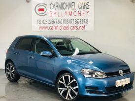 2013 VOLKSWAGEN Golf 1.6 TDI SE (s/s) Diesel Manual BLUE, 90K, – Carmichael Cars Ballymoney
