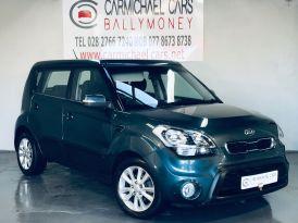 2012 KIA Soul 1.6 CRDi 2 Diesel Automatic BLUE, ONLY 54K, FSH 9 STAMPS – Carmichael Cars Ballymoney