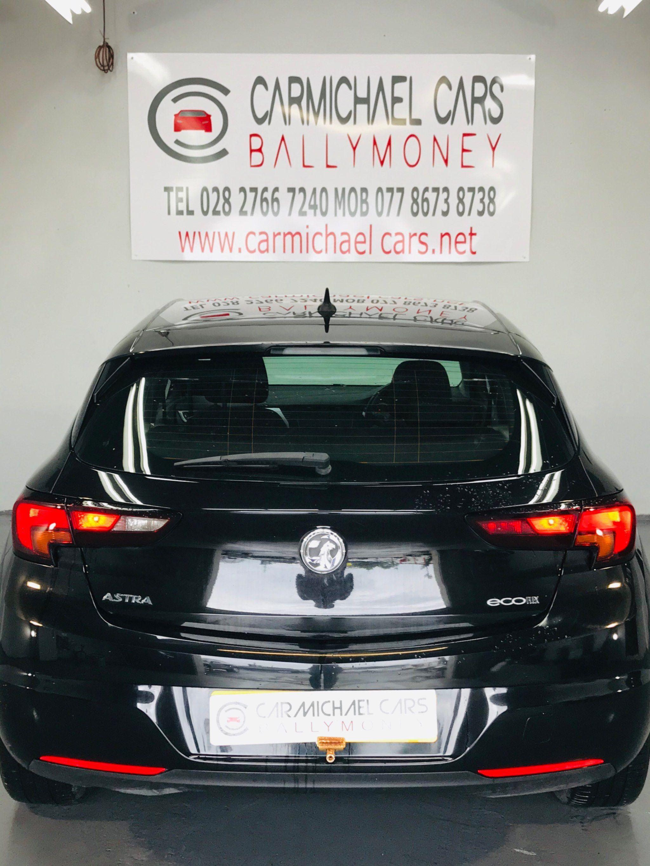 2017 VAUXHALL Astra 1.6 CDTi ecoFLEX Tech Line (s/s) Diesel Manual BLACK, 89K, FSH – Carmichael Cars Ballymoney full