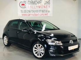 2013 VOLKSWAGEN Golf 2.0 TDI GT (s/s) Diesel Manual BLACK, 98K – Carmichael Cars Ballymoney