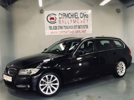 2011 BMW 3 Series 2.0 318d Exclusive Touring Diesel Manual BLACK, 108K, – Carmichael Cars Ballymoney