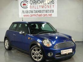 2008 MINI Hatch 1.6 Cooper D Diesel Manual BLUE, 106K, 1/2 LEATHER – Carmichael Cars Ballymoney