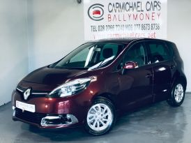 2013 RENAULT Scenic 1.2 TCe ENERGY Dynamique Tom Tom (s/s) Petrol Manual RED, ONLY 37K, – Carmichael Cars Ballymoney