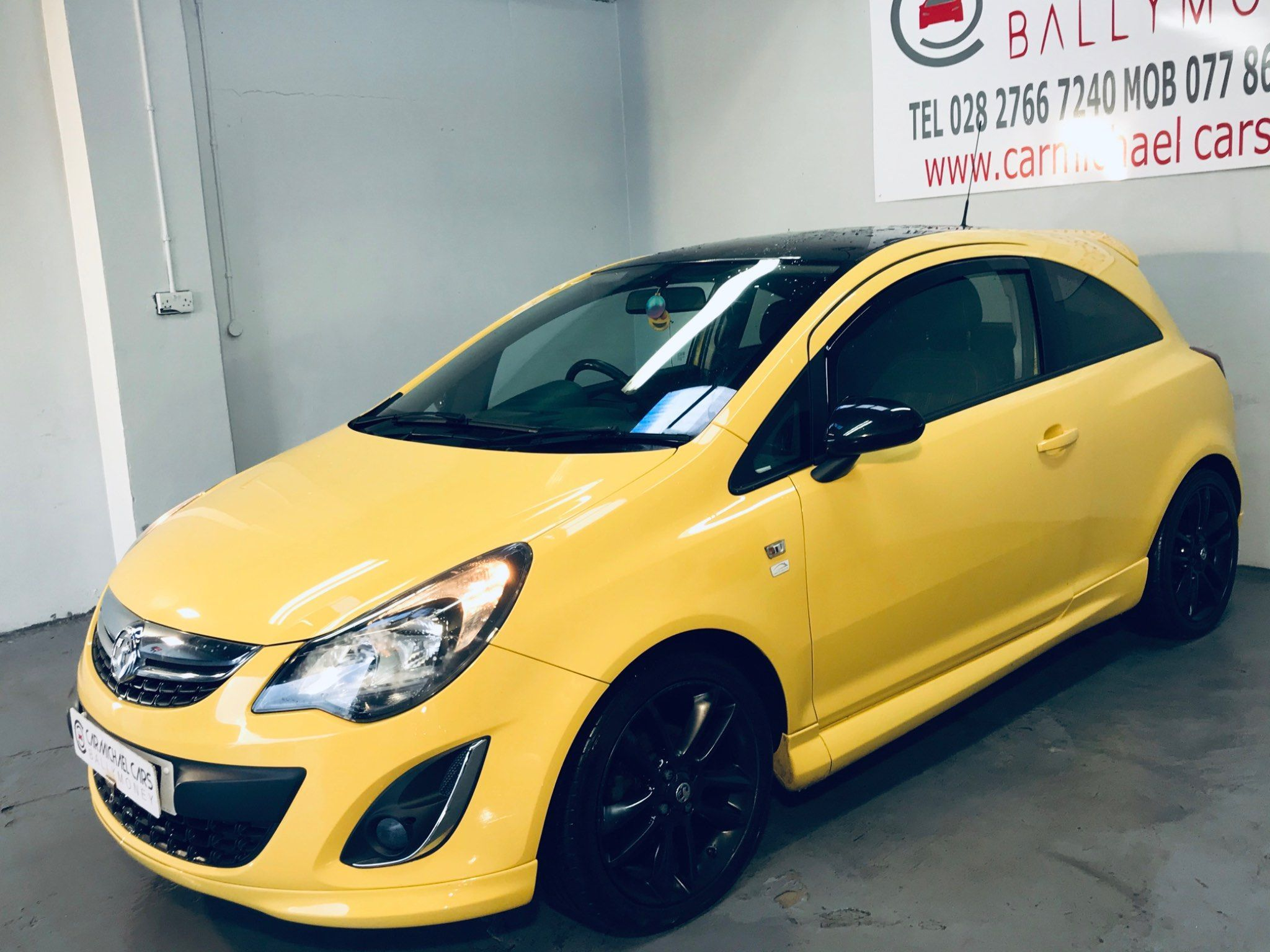 2013 VAUXHALL Corsa 1.2 i 16v Limited Edition  (a/c) Petrol Manual ONLY 54K, – Carmichael Cars Ballymoney full