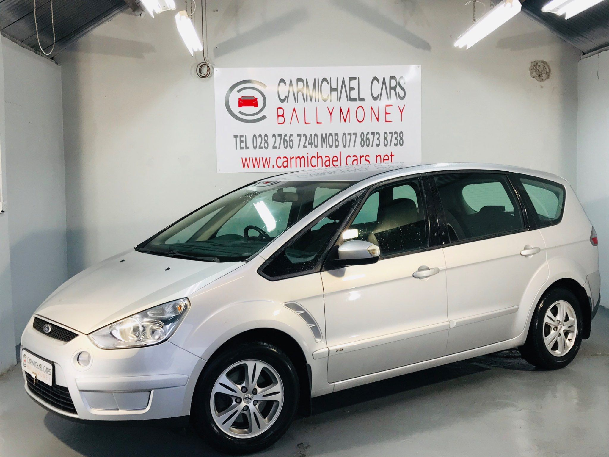 2009 FORD S-Max 2.0 TDCi Zetec Diesel Manual  – Carmichael Cars Ballymoney