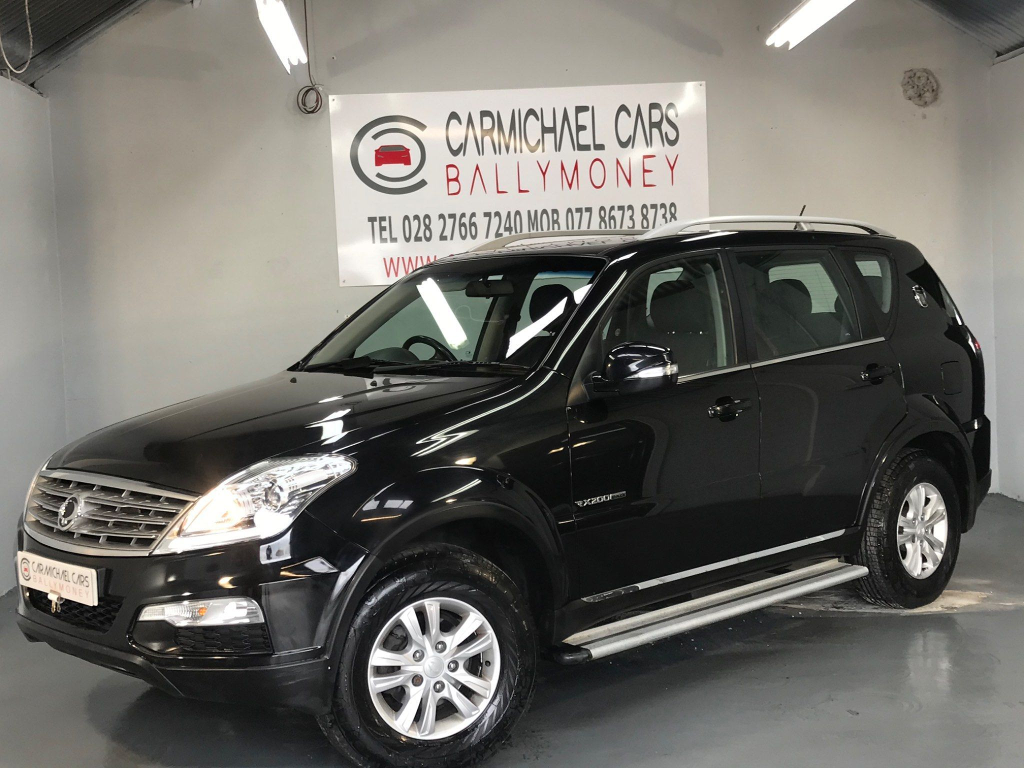 2014 SSANGYONG Rexton 2.0 TD SX 4×4 Diesel Manual ** VIEWING BY APPOINTMENT ** – Carmichael Cars Ballymoney