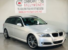 2010 BMW 3 Series 2.0 320d SE Business Edition Touring Diesel Manual 98K, FULL LEATHER – Carmichael Cars Ballymoney