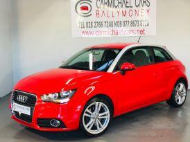 2012 AUDI A1 1.6 TDI Sport Diesel Manual RED, 120K, – Carmichael Cars Ballymoney