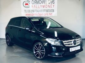 2012 MERCEDES BENZ B Class 1.8 B180 CDI BlueEFFICIENCY SE (s/s) Diesel Manual BLACK, 72K, – Carmichael Cars Ballymoney