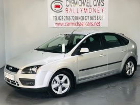 2007 FORD Focus 1.6 Zetec Climate Petrol Manual SILVER, 76K, – Carmichael Cars Ballymoney