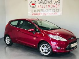 2013 FORD Fiesta 1.25 Zetec Petrol Manual RED, 68K, GREAT HISTORY – Carmichael Cars Ballymoney