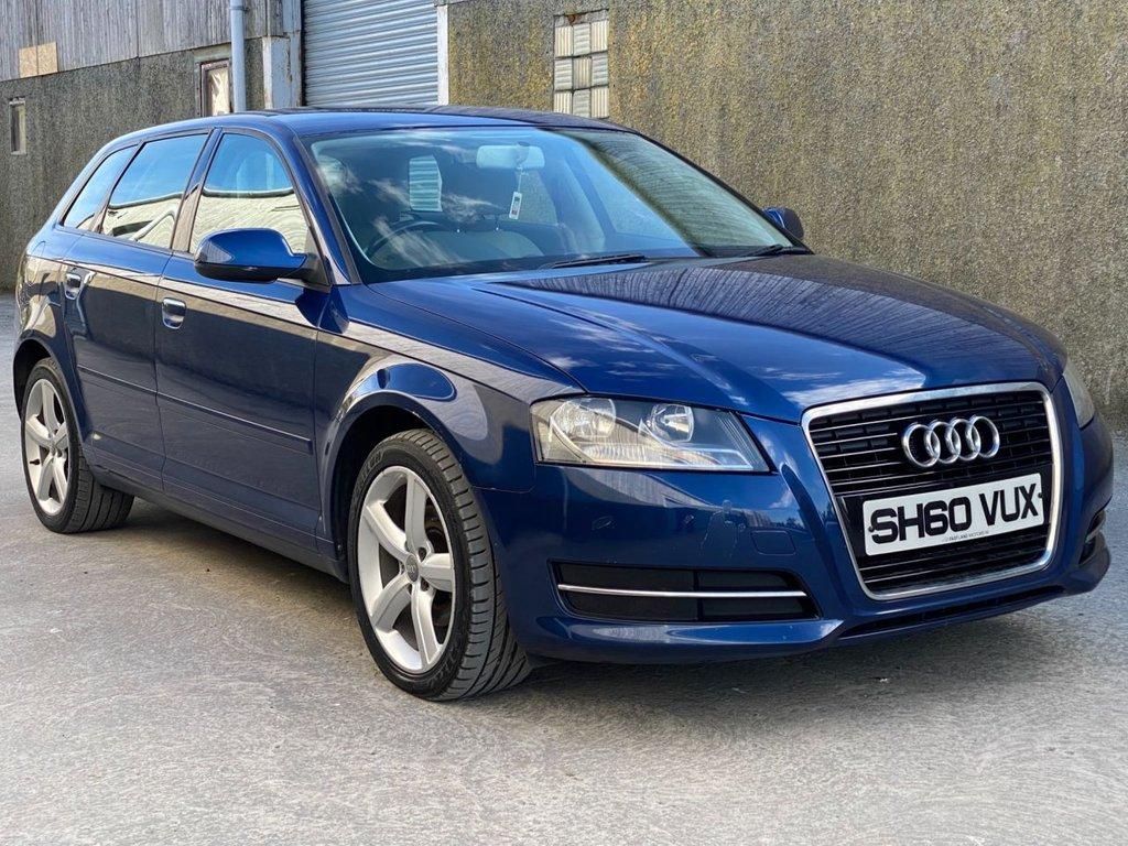 2010 Audi A3 1.6 SPORTBACK MPI TECHNIK Petrol Manual  – Fast Lane Motors NI Ballynahinch