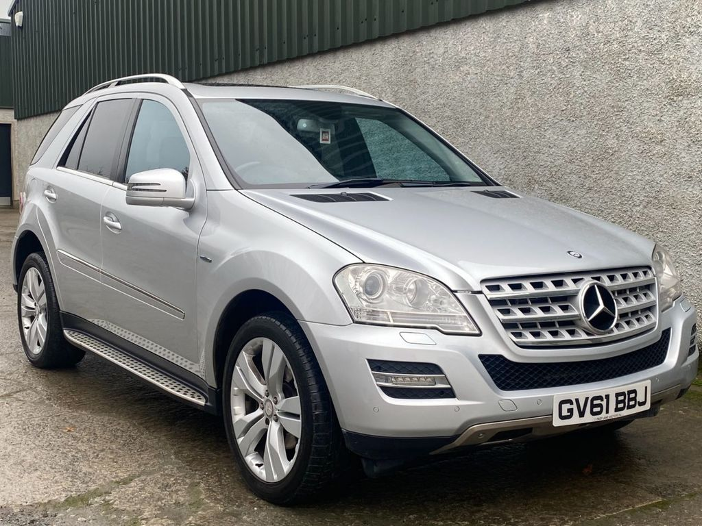 2011 Mercedes-Benz M Class M-CLASS 3.0 ML300 CDI BLUEEFFICIENCY SPORT Diesel Automatic  – Fast Lane Motors NI Ballynahinch