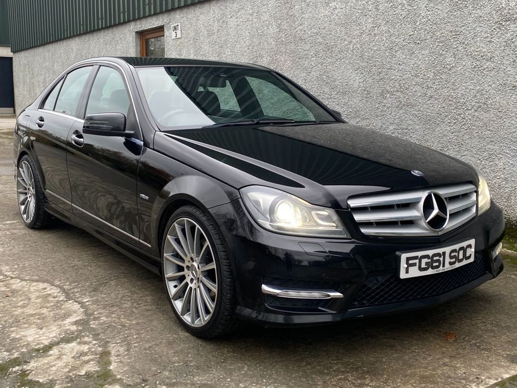 2012 Mercedes-Benz C Class C-CLASS 2.1 C220 CDI BLUEEFFICIENCY SPORT Diesel Automatic  – Fast Lane Motors NI Ballynahinch