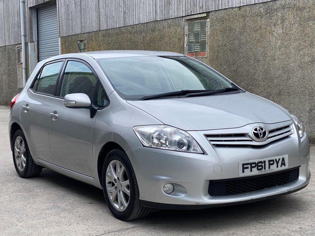 test22012 Toyota Auris 1.6 TR VALVEMATIC Petrol Manual  – Fast Lane Motors NI Ballynahinch