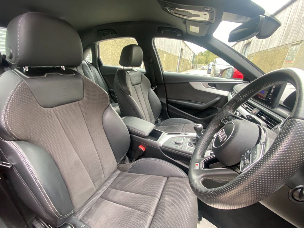 2017 Audi A4 2.0 TDI ULTRA S LINE Diesel Manual  – Fast Lane Motors NI Ballynahinch full