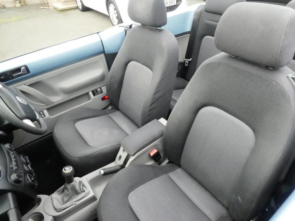 2003 VOLKSWAGEN Beetle 1.6 Cabriolet Petrol Manual motd july 2020 – FC Motors 52 Carntall Rd, Newtownabbey BT36 5SD full