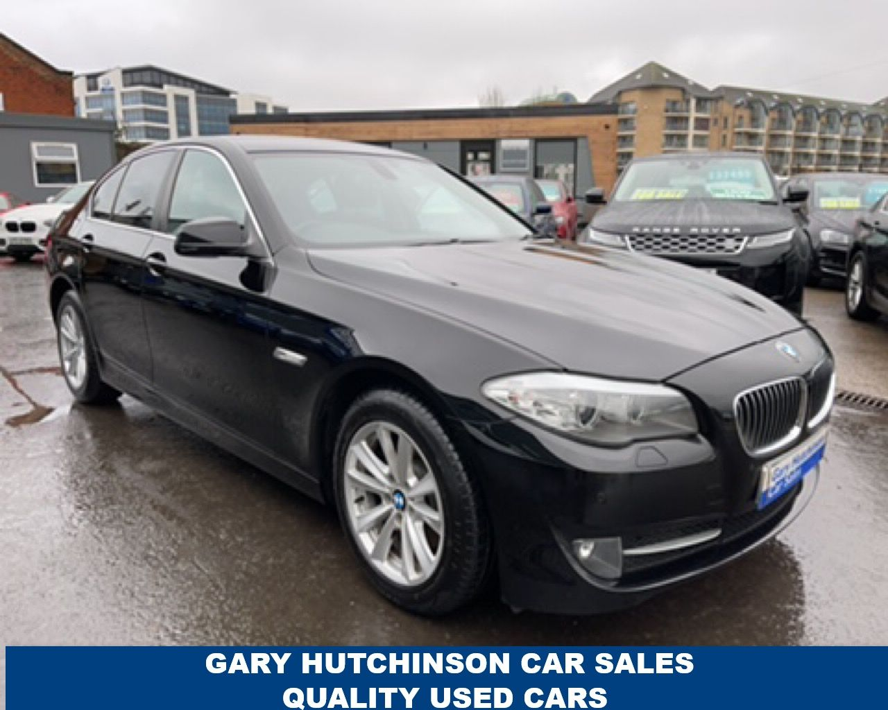 2010 BMW 5 Series 520D SE Diesel Manual  – Gary Hutchinson Car Sales Belfast