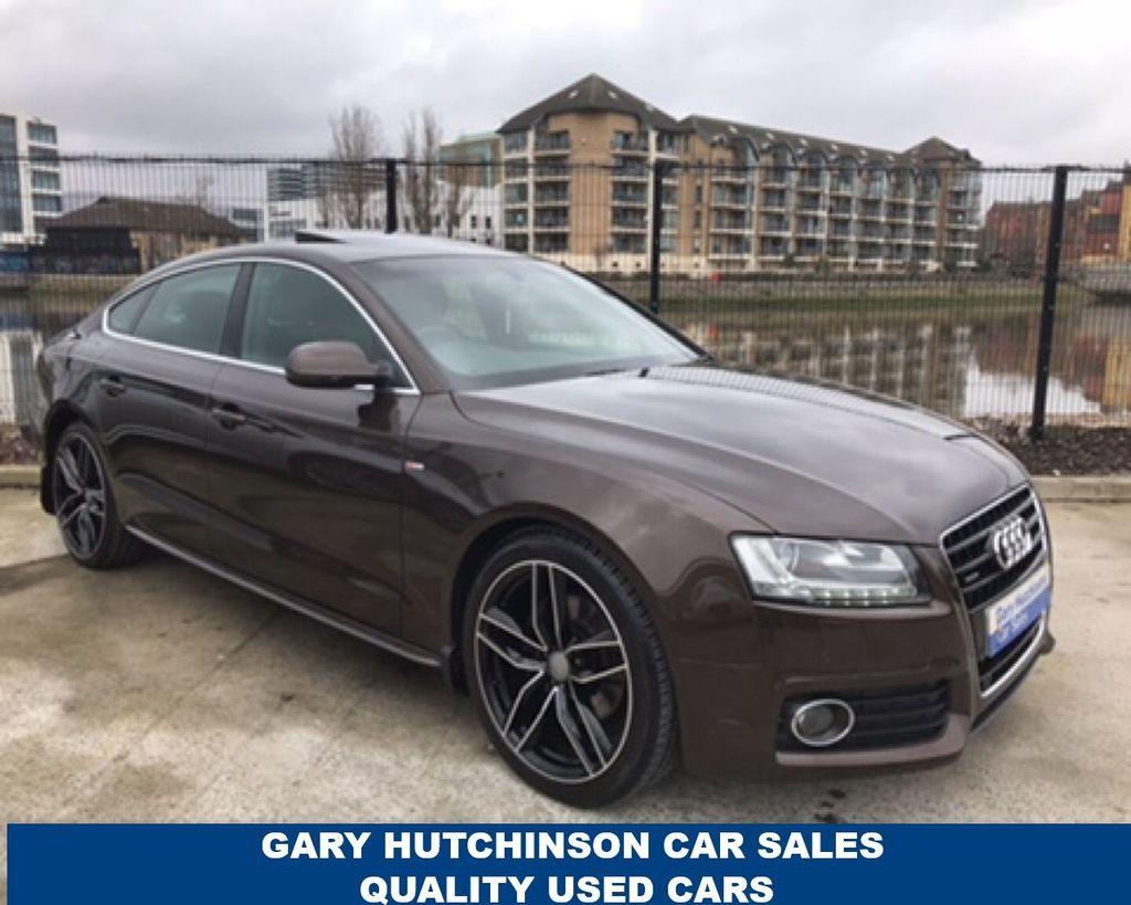 2011 Audi A5 SPORTBACK 3.0 TDI QUATTRO S LINE Diesel Semi Auto  – Gary Hutchinson Car Sales Belfast