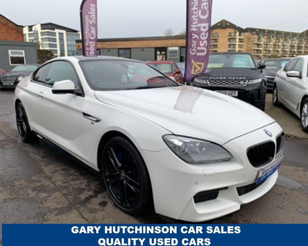 2013 BMW 6 Series G   640D M SPORT Diesel Automatic  – Gary Hutchinson Car Sales Belfast
