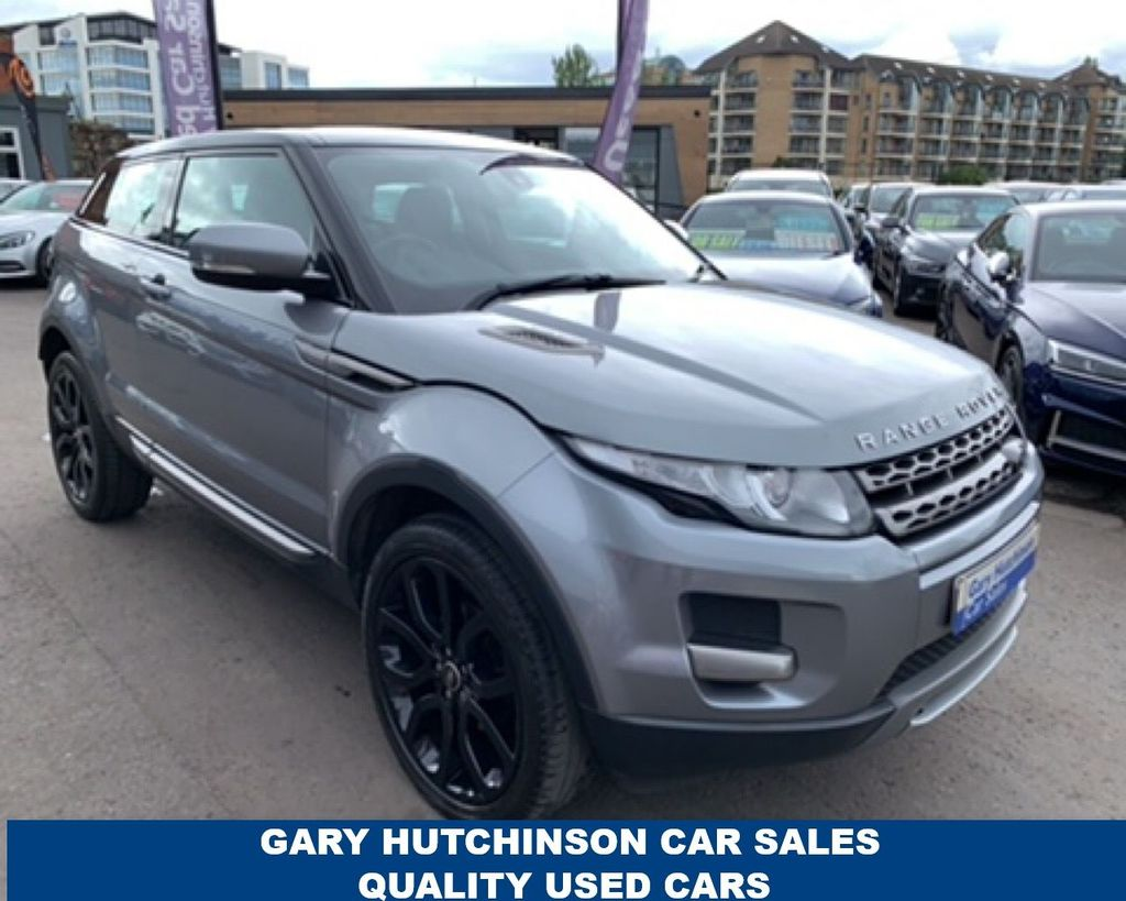 2013 Land Rover Range Rover Evoque 2.2 SD4 PURE Diesel Manual  – Gary Hutchinson Car Sales Belfast