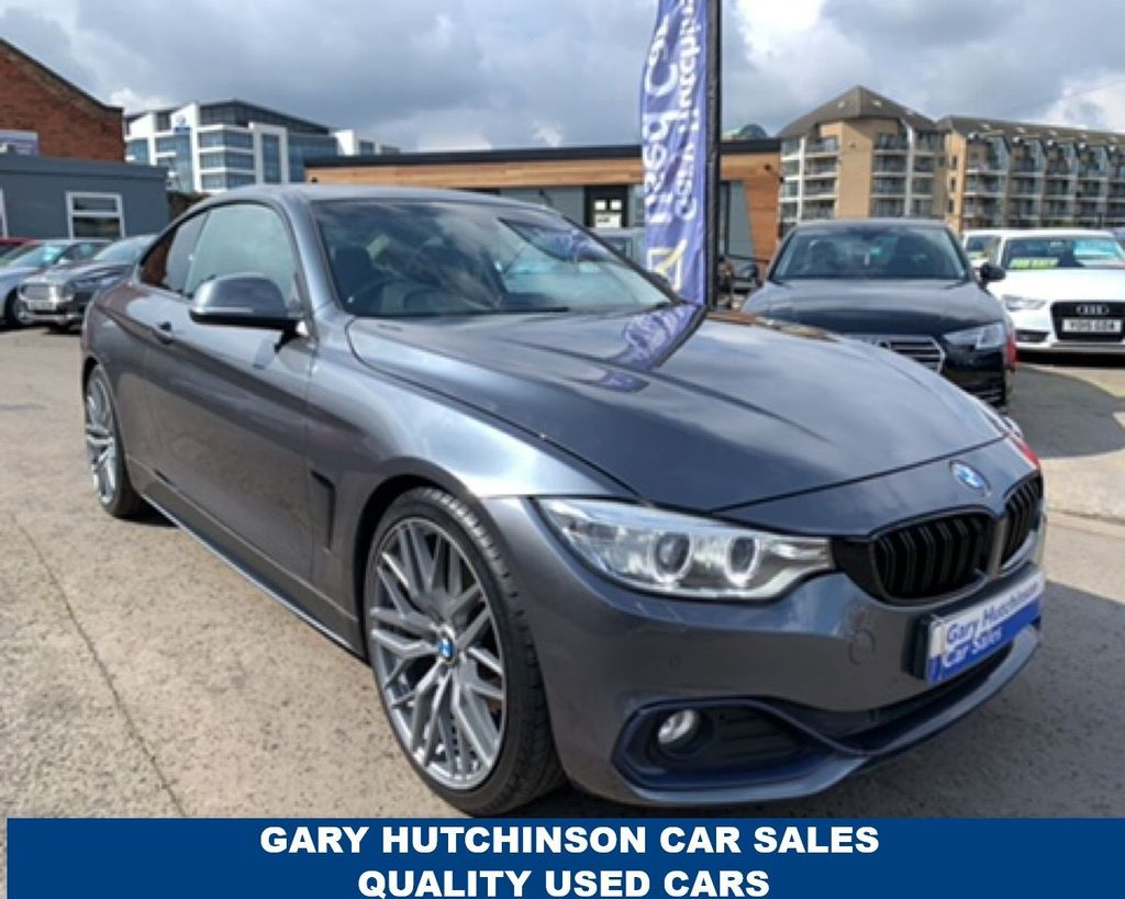 2014 BMW 4 Series 2.0 420D SPORT Diesel Manual  – Gary Hutchinson Car Sales Belfast