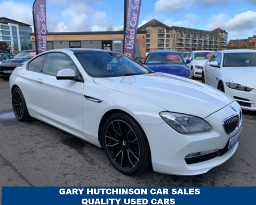 2014 BMW 6 Series 640D SE Diesel Automatic  – Gary Hutchinson Car Sales Belfast