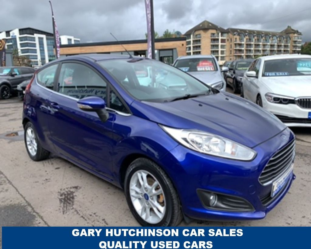 2014 Ford Fiesta 1.5 ZETEC TDCI Diesel Manual  – Gary Hutchinson Car Sales Belfast