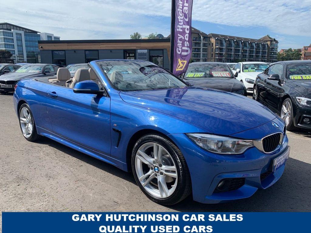 2015 BMW 4 Series 2.0 420D M SPORT Diesel Automatic  – Gary Hutchinson Car Sales Belfast