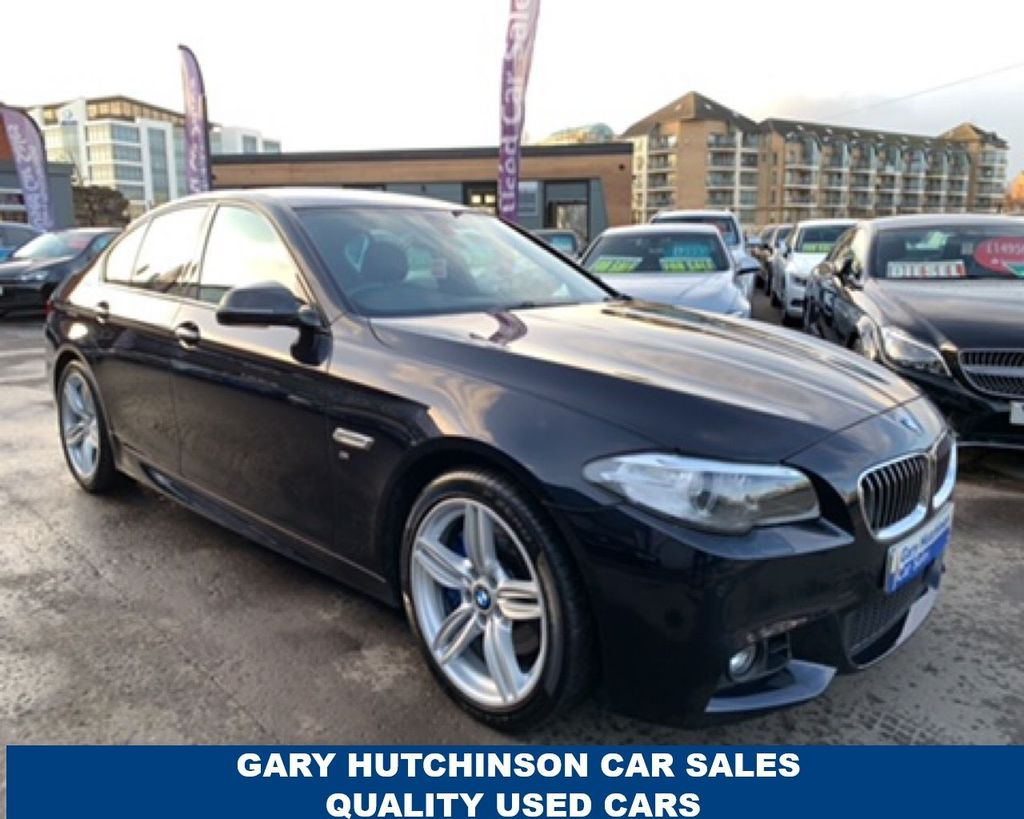 2015 BMW 5 Series 530D M SPORT Diesel Automatic  – Gary Hutchinson Car Sales Belfast