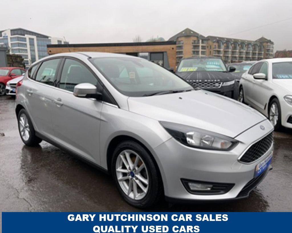 2015 Ford Focus 1.0 ZETEC Petrol Manual  – Gary Hutchinson Car Sales Belfast