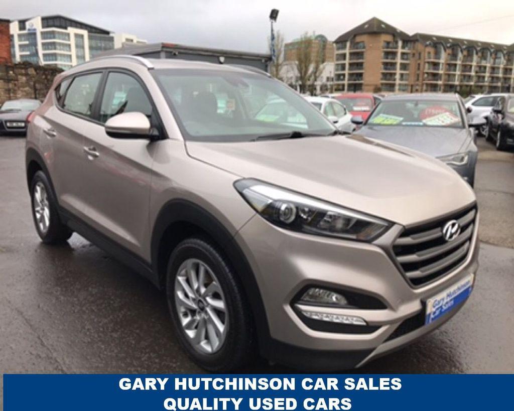 2015 Hyundai Tucson 1.7 CRDI SE BLUE DRIVE Diesel Manual  – Gary Hutchinson Car Sales Belfast