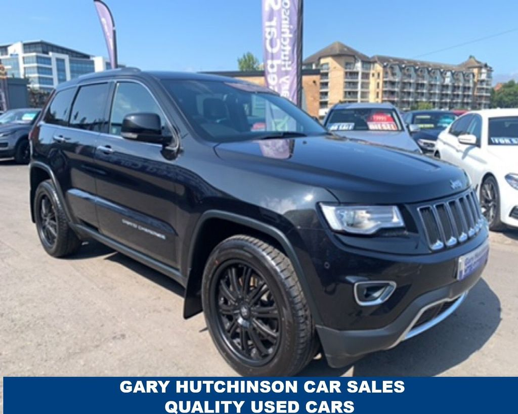 2015 Jeep Grand Cherokee 3.0 V6 CRD LIMITED Diesel Automatic  – Gary Hutchinson Car Sales Belfast