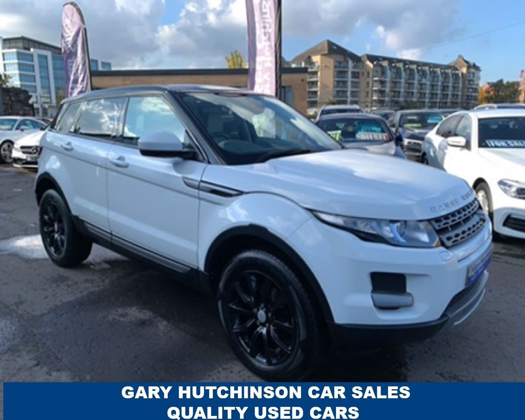 2015 Land Rover Range Rover Evoque 2.2 ED4 PURE TECH Diesel Manual  – Gary Hutchinson Car Sales Belfast