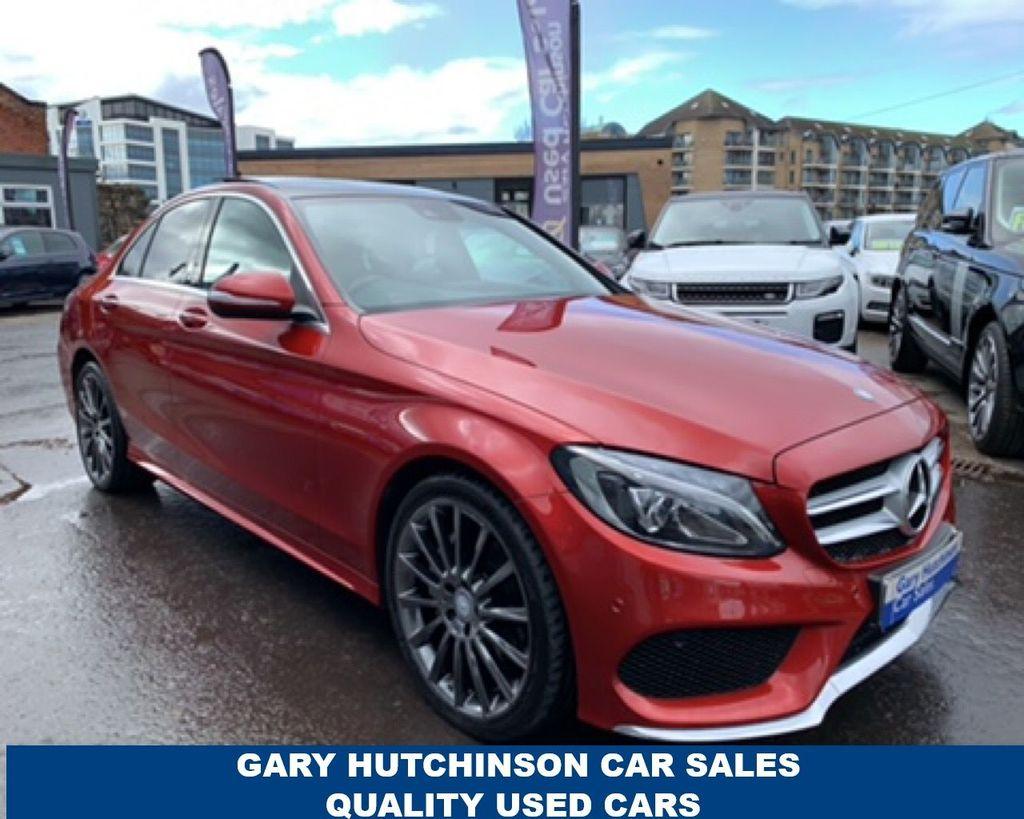 2015 Mercedes-Benz C Class C-CLASS C220 CDI BLUETEC AMG LINE PREMIUM PLUS Diesel Automatic  – Gary Hutchinson Car Sales Belfast